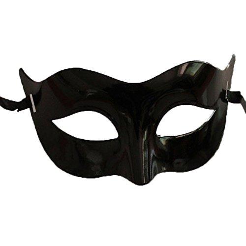 Face mask Shield Veil Guard Screen Domino False Front Halloween Men Half face mask Zorro mask Makeup Dance Men mask Black