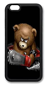 ICORER iPhone 6 Case The Bear Top TPU Case Cover for Apple iPhone 6 Black