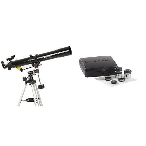 Celestron PowerSeeker 80EQ Telescope w/ Accessory Kit