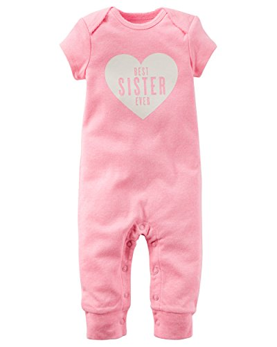 Carters 118G710 Baby Girl Jumpsuit