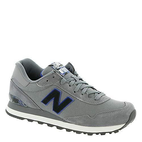 New Balance Men's 515v1 Sneaker, Gunmetal/Team Royal, 10 D US
