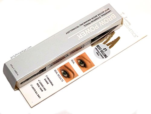 It Cosmetics Brow Power Universal Brow Pencil Universal Taupe .0056 oz.