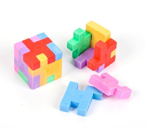 1'' PUZZLE CUBE ERASER, Case of 432