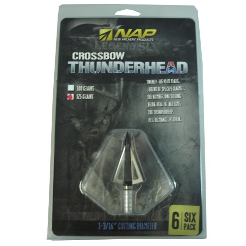 New Archery Products 125 Grain 5-Pack Crossbow Thunderhead