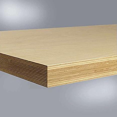 Relativ Werkbankplatte Multiplex geölt, B x T x H = 2000 x 700 x 50 mm AY38