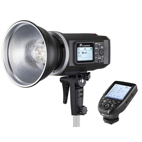 Flashpoint XPLOR 600 HSS TTL Battery-Powered Monolight with Built-in R2 2.4GHz Radio Remote System - Bowens Mount (AD600 TTL) With R2 Pro Transmitter For (Pro Flashtube)