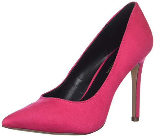 (BCBGeneration Women's Heidi Pump, Hot Pink Suede, 8.5)