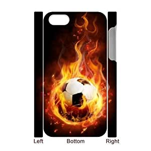 Soccer Ball DIY 3D Cover Case for Iphone 4,4S,personalized phone case ygtg-765996