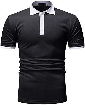 Pocket Alien Mens Short Sleeve Polo Shirt Classic-Fit Blouse Sport Tee
