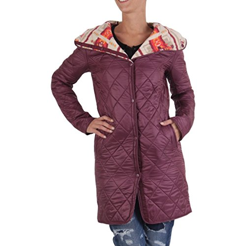 Rojo Mujer Usa Blauer Abrigo Uni Para qwF4FSUHA
