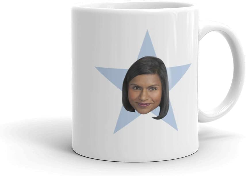 The Office Kelly Star White Mug - 11 oz. - Official As Seen On Mug