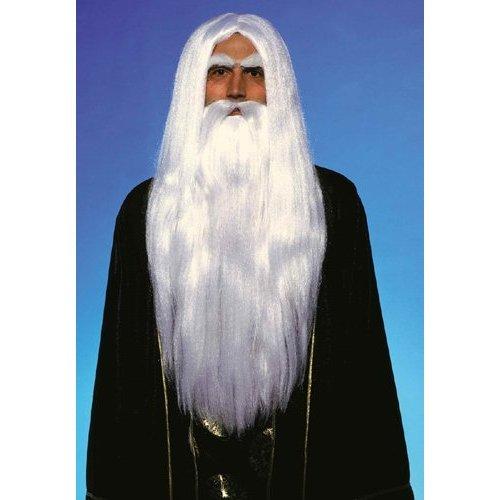 Adult Merlin Wig and Beard Set (Merlin Wig And Beard Set)