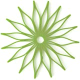 Spice Ratchet 16815 Blossom Multi-Use Silicone Trivet, Kiwi Green