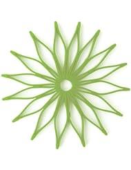 Spice Ratchet 16815 Blossom Multi-Use Silicone Trivet, Kiwi Green