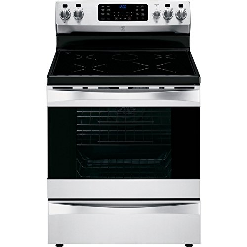 Kenmore Elite 95073 6.1 cu. ft. Self -Clean Freestanding Induction Range w/True Convection in Stainless Steel, includes delivery and hookup (Induction Stove Cooktop)