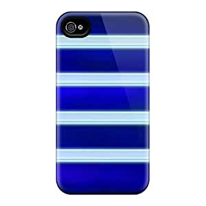 High-end Case Cover Protector For Iphone 4/4s(shelf Glass Blue)