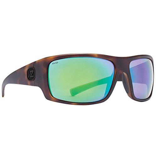 VonZipper Mens Suplex Polarized Sunglasses, Tortoise Satin/Wild Lens One - Cambridge Sunglasses