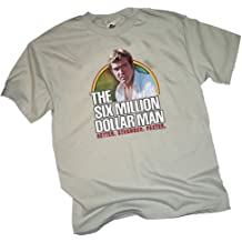 """Better. Stronger. Faster."" -- The Six Million Dollar Man Adult T-Shirt"