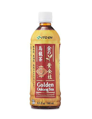 Ito En Tea Golden Oolong Tea, Unsweetened, 16.9 Ounce (Pack of 12)