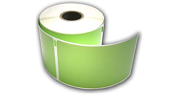 """RJS White Shipping Labels 6 rolls 1800 2 5//16/"""" x 4/"""" Compatible w//DYMO 30256"""