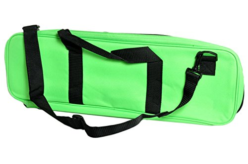 Deluxe Set Tournament Chess - US Chess Federation Deluxe Chess Bag - Neon Green