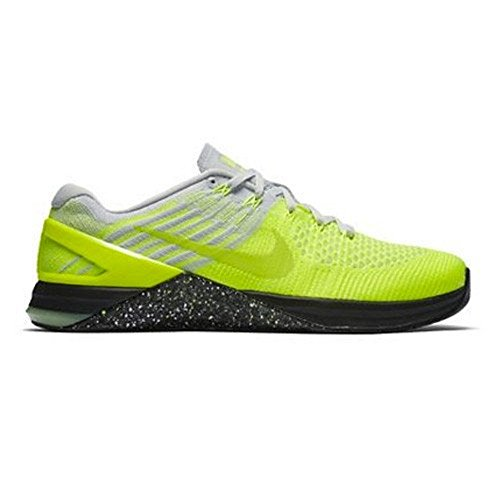 Cross Training Flyknit Shoes pure Platinum black Metcon DSX Ghost Volt Mens Green Nike ISTxRX