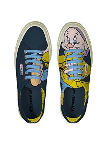 Le Superga - Cartoon 2750-disney Cucciocobw Cucciolo Dk Denim