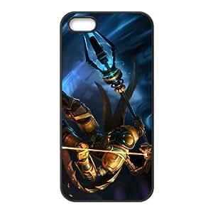 Viktor Liga de Leyendas funda iPhone M7M24M8EU 5 5s caso funda 7VS714 negro