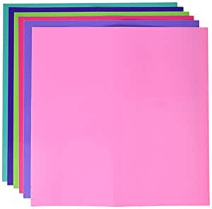 """Oracall 12""""x12"""" Permanent/Outdoor Adhesive Craft Vinyl Sheets (Girl)"""