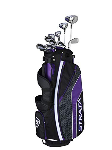Callaway Golf 2019 Women's Strata Ultimate Complete 16 Piece Package Set (Right Hand, Graphite)