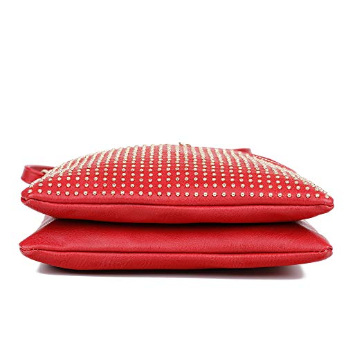 Femme Bandoulière Sac London Red Craze Eq8twn7