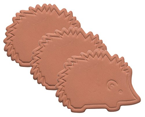 Now Designs Terracotta Brown Sugar Saver, Set of Three, Hedgehog