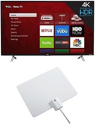 Amazon com: TCL 43S405 43-Inch 4K Ultra HD Roku Smart LED TV