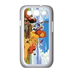 QSWHXN Phone Case Lion King Hard Back Case Cover For Samsung Galaxy S3 I9300