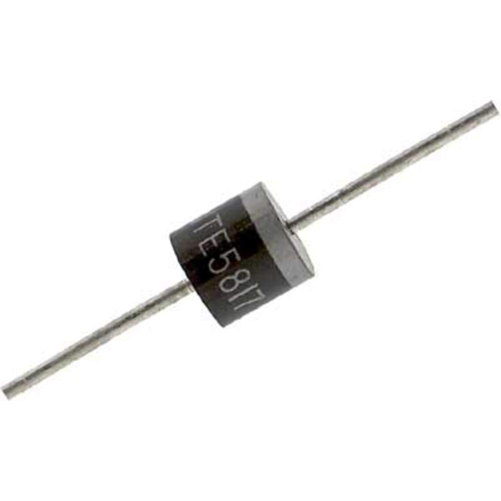 Diode; Rectifier; Vr 1000V; If 6A; Config Single Phase; Vf 1.3V; Tj 175degc; Cs 400A - Pack of 20
