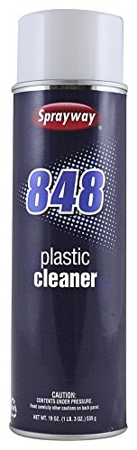 Aerosol Plastic Cleaner, 19 oz - Sprayway SW848