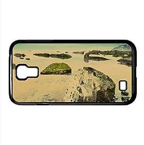 Evening Sea Landscape Watercolor style Cover Samsung Galaxy S4 I9500 Case (Beach Watercolor style Cover Samsung Galaxy S4 I9500 Case)