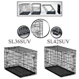 """Midwest Homes for Pets 23PAN Crates, 36"""", Black"""