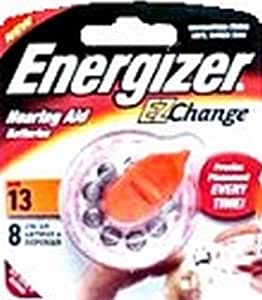 Energizer EZ Change hearing Aid Batteries AC13 (8-Count) (4-Pack)