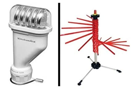 KitchenAid KPEXTA Stand Mixer Attachment, Pasta Press plus Pasta Drying Rack
