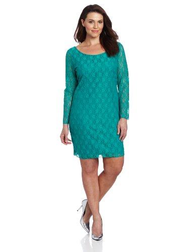 Dress Star Plus Sheath Size Vixen Lace Jade Women's qwgwrYF8