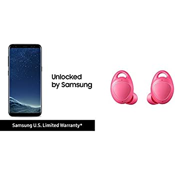 Samsung Galaxy S8 and Gear IconX Bundle - Pink