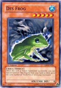 Yu-Gi-Oh! - Des Frog (CRV-EN026) - Cybernetic Revolution - 1st Edition - Common