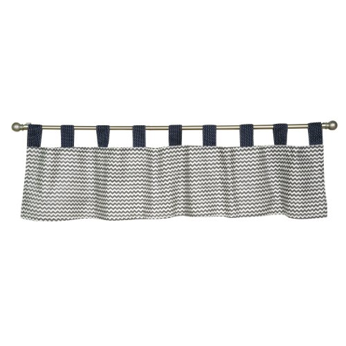 Trend Lab Window Valance, Perfectly Preppy