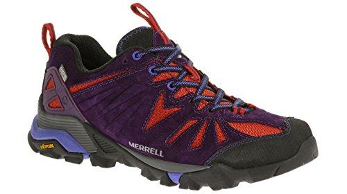 Mujer Zapatillas Plum senderismo de Merrell Wild Capra n7qBqWS