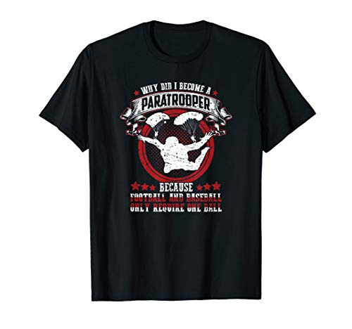 Funny 82nd 101st Airborne Paratrooper Military T Shirt