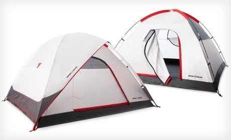 Swiss Gear Alpine Peak Tent (4-person tent), Outdoor Stuffs