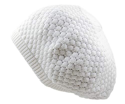 Rw 100% Cotton Classic Rasta Beanie (White)