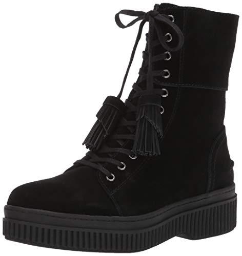 Franco Sarto Women's Becks Fashion Boot, Black Suede, 6.5 M US