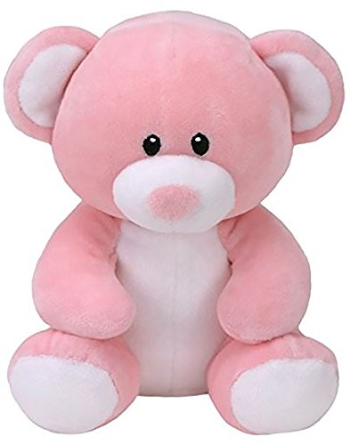 - T&Y TY Beanie Boos - Princess Pink Bear Large Size